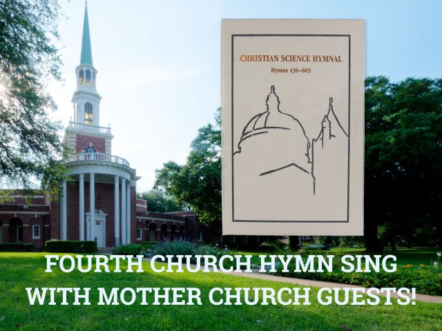 Fourth Church October 14 Hymn Sing