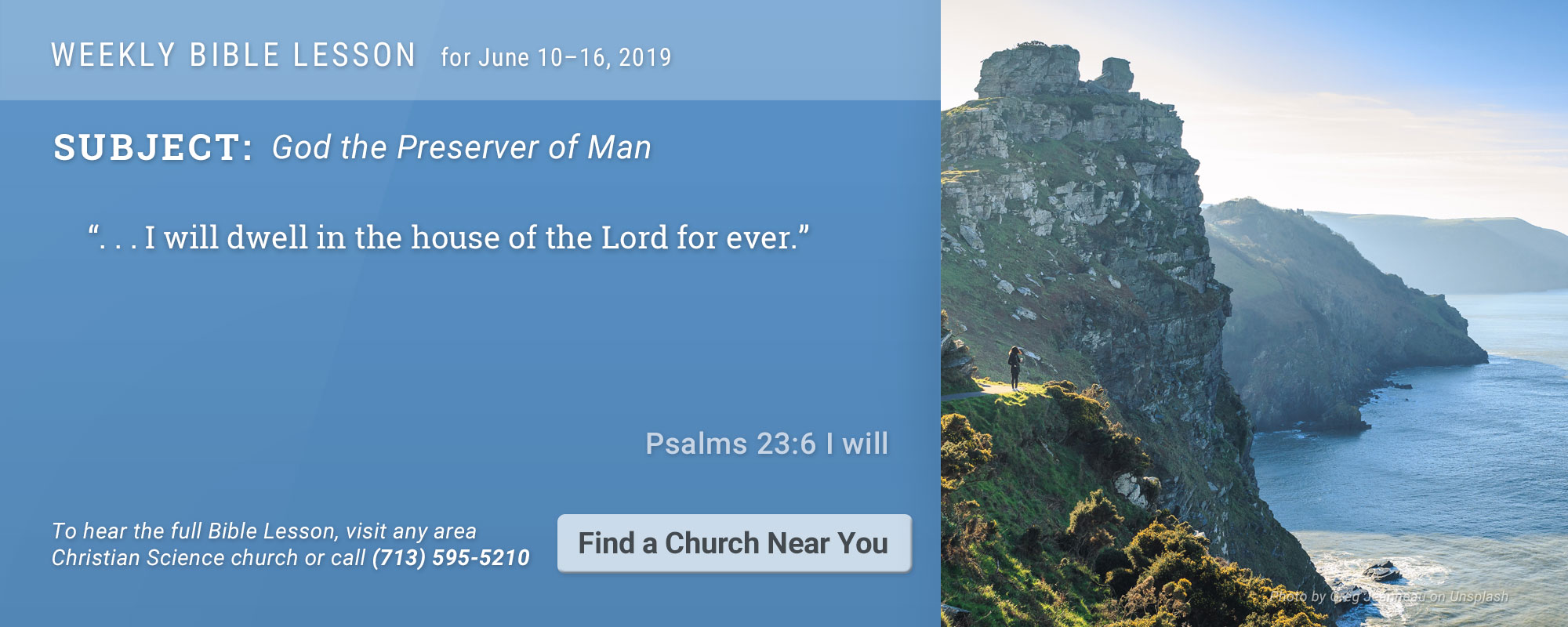 Bible Lesson Golden Text 20190610
