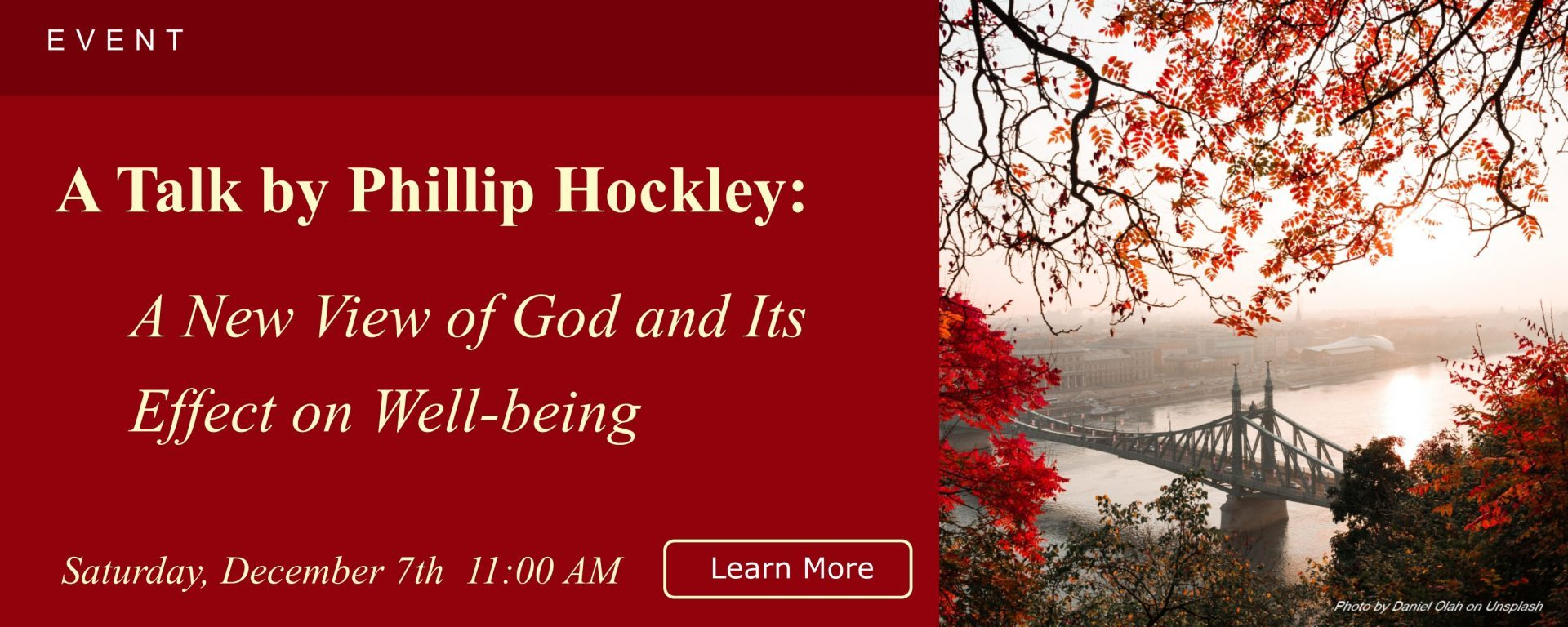 A New View Of God And Its Effect On Well Being Phillip Hockley