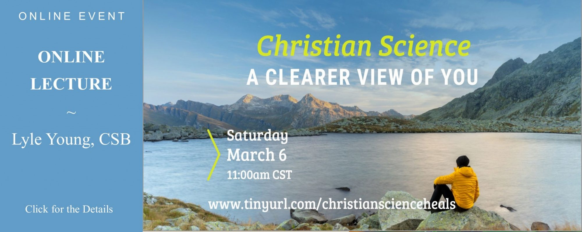Christian Science — A Clearer View Of You
