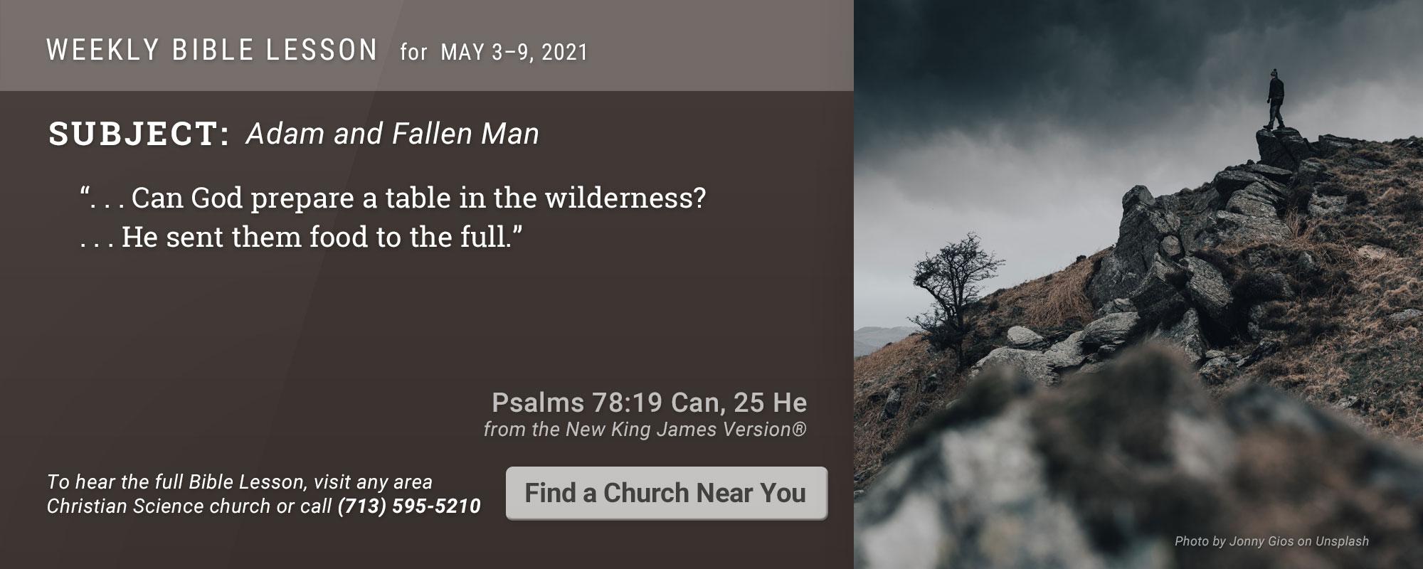 Bible Lesson Golden Text 20210503